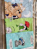 Набор пеленок для новорожденных 5 шт ( материал на выбор)