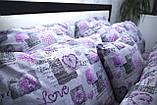Комплект постельного белья Bretanni 1.5-й 150 х 220 см (10035), фото 4