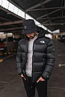 Куртка мужская зимняя The North Face до -30*С черная теплая   Пуховик мужской зимний 1:1 с оригиналом