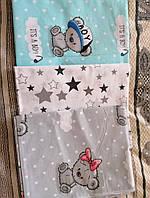 Набор пеленок для новорожденных 5 шт ( ткань на выбор)