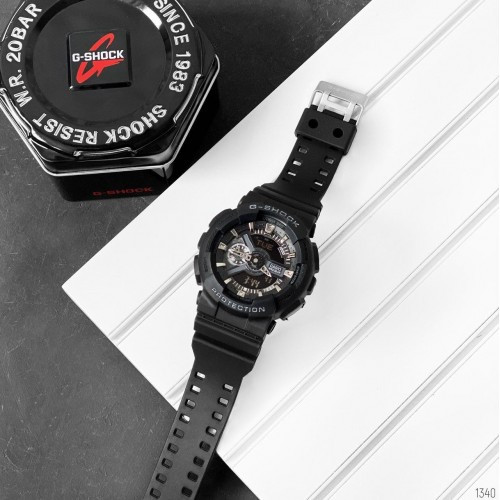 Casio G-Shock  (Black-Silver New)