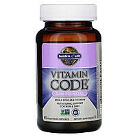 Сирі вітаміни для вагітних, RAW Prenatal, Vitamin Code, Garden of Life, 90 капсул вегетаріанських