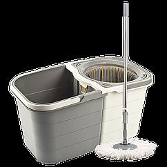 Набір для прибирання PLANET SPIN MOP DUO 19л, КОД: 2312747