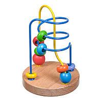 Розвиваюча іграшка лабіринт ★ Різнокольоровий