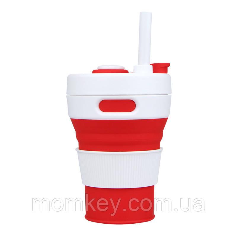 Чашка 450 мл (красный)