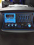 Колонка аккумуляторная с радиомикрофонами TMG ORIGINAL Soundmax SM-15 (Bluetooth/USB/SD), фото 2