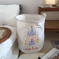 Корзина для игрушек, белья, хранения Замок Berni Home
