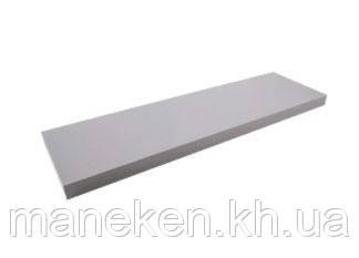 Полка 16мм 2899PE (серебро) 1200*250