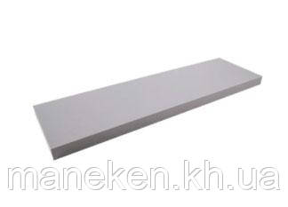 Полка 16мм 2899PE (серебро) 1200*250, фото 2