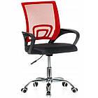 Крісло офісне комп'ютерне з мікросітки Smart робоче для комп'ютера офісу дому, фото 6