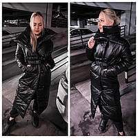 Пальто женское теплое зимнее, фото 1