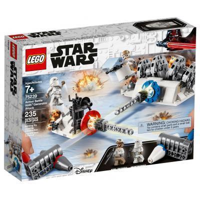Конструктор LEGO Star Wars Разрушение генераторов на Хоте 235 деталей