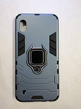 Чехол Samsung A10 / M10 Terminator Ring Blue