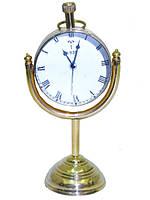 Часы латунные в увеличительном стекле, (чл-18)