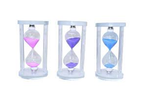 Часы песочные пластиковые прозрачные (чп-10)