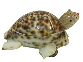 Черепаха из ракушек (р-07)