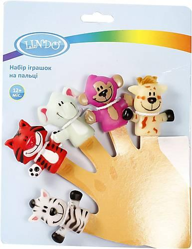 Набір іграшок на пальці  Lindo (Линдо)  P 265