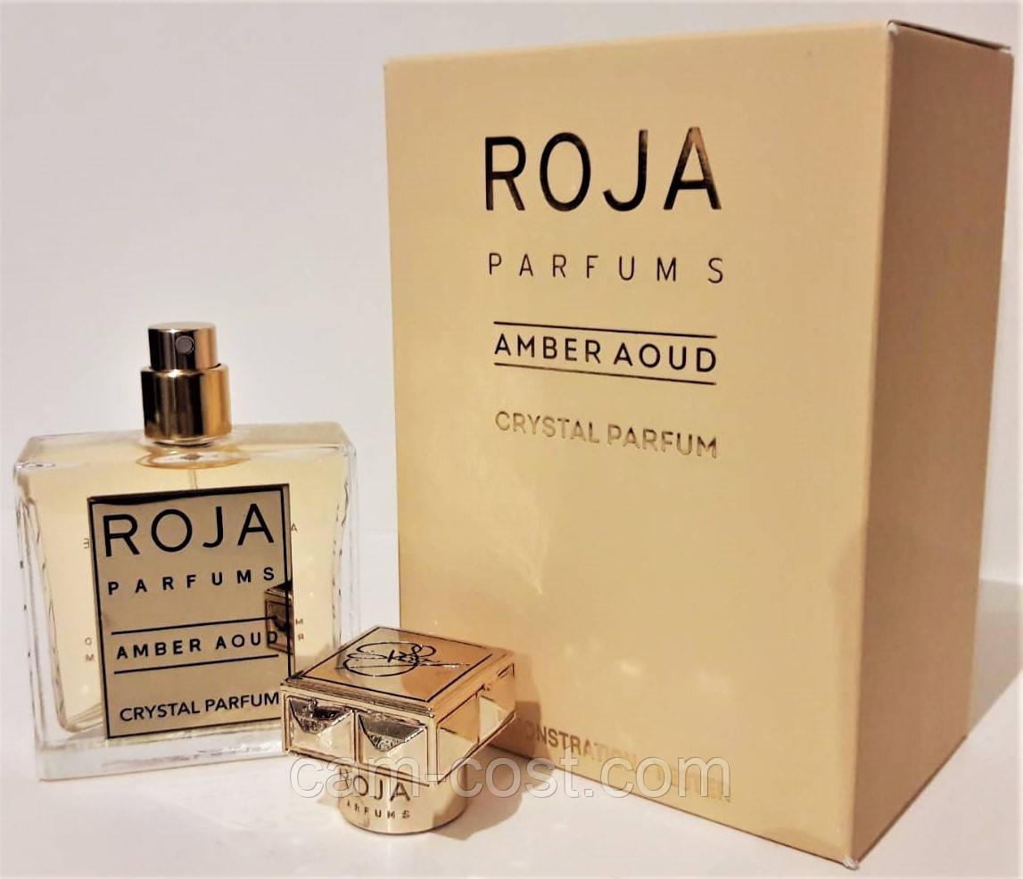 Тестер ROJA Parfums Amber Aoud Crystal Parfum EDP 50 мл