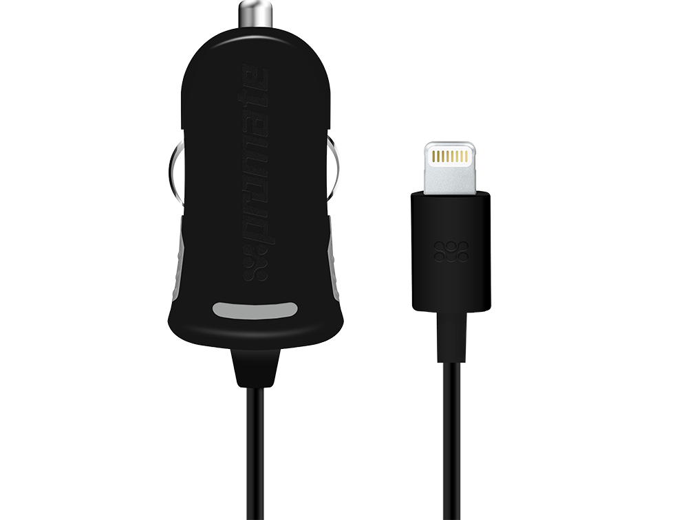 Автомобильное зарядное устройство Promate proCharge.LT Black