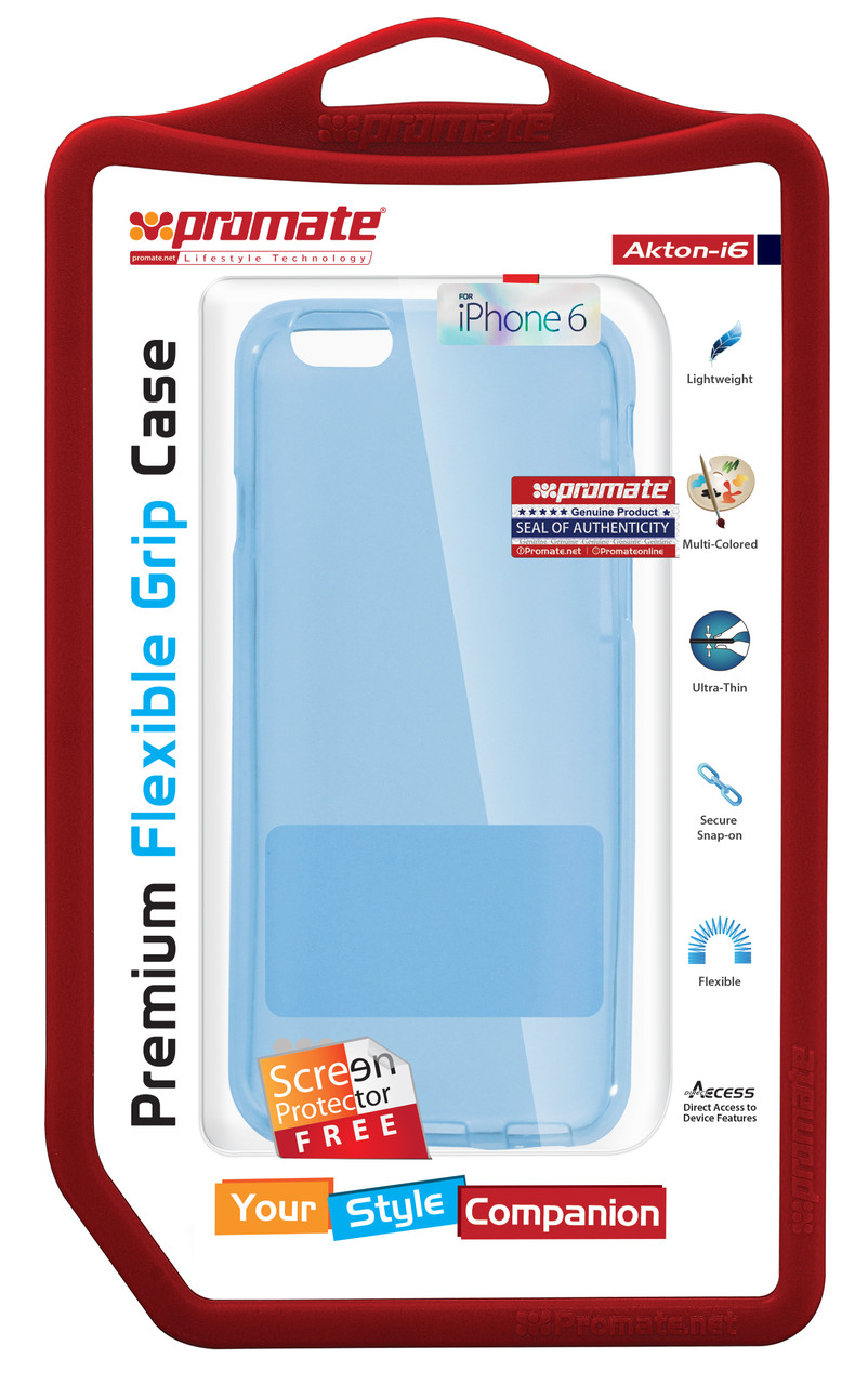 Чехол для iPhone Promate Akton-i6 Blue