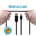 Кабель Promate linkMate-U2 USB-microUSB 1.5 м Black, фото 5