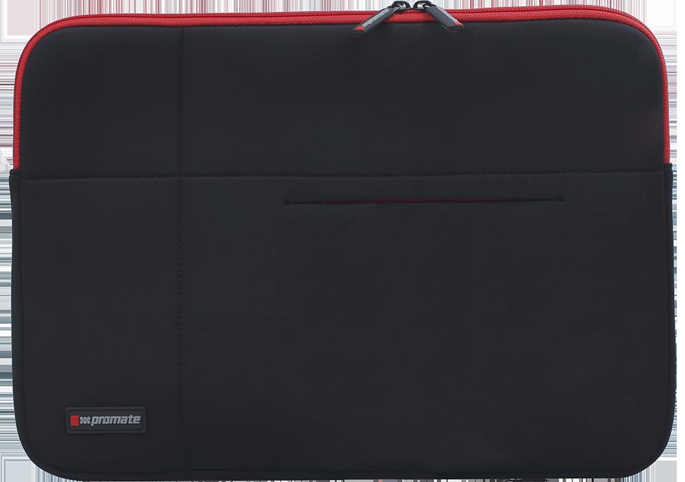 "Чехол для ноутбука Promate Zipper-L 15.6"" Black"