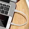 Кабель Promate linkMate-LTS Lightning-USB 0.2 м Black, фото 4