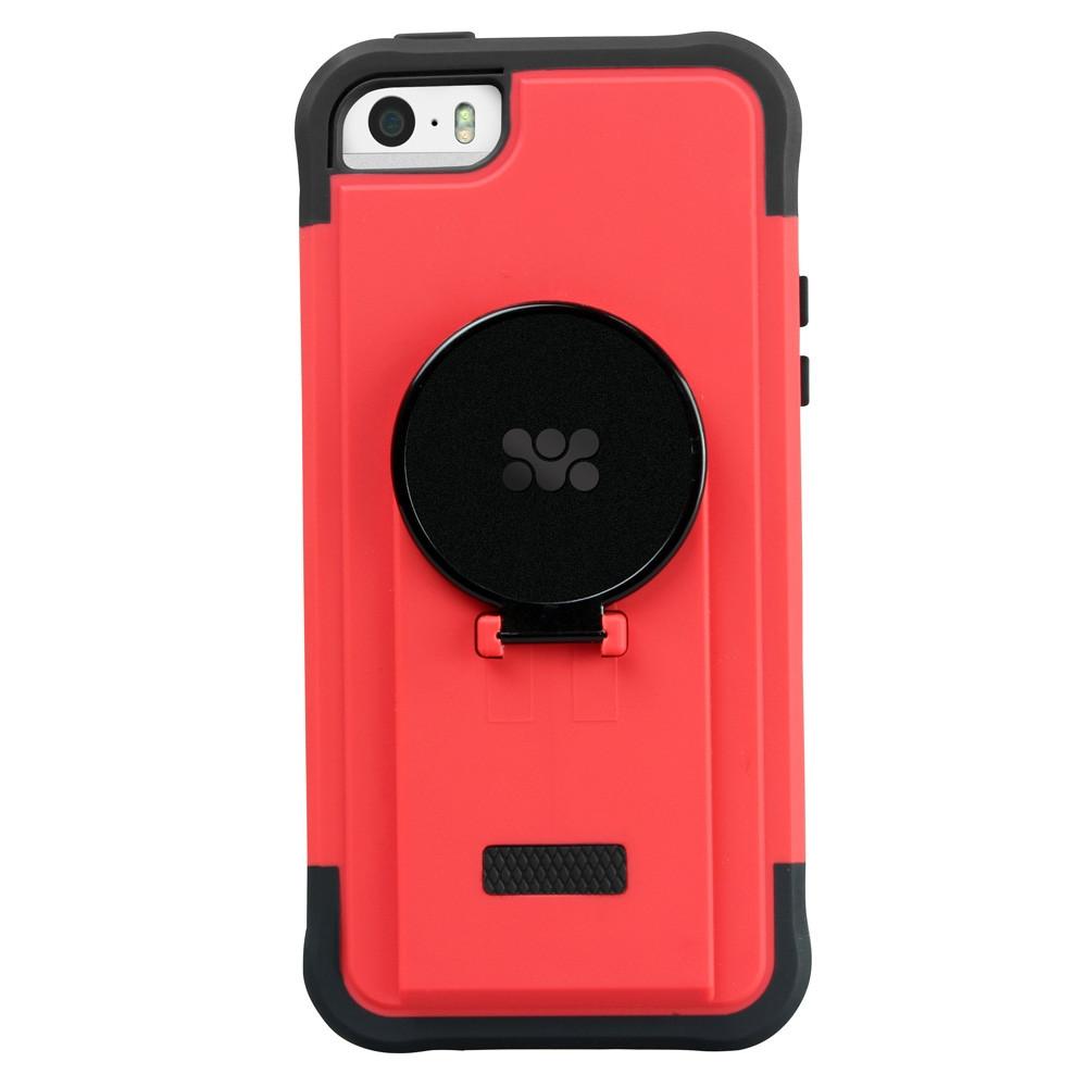 Противоударная накладка для iPhone 5/5s Promate Ride.i5 Red