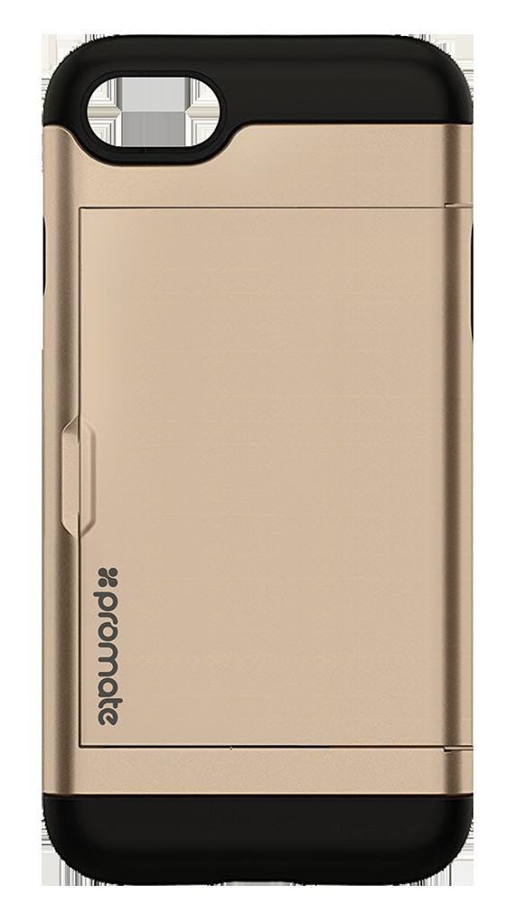 Чехол для iPhone Promate vaultcase-I7 Gold
