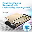 Чехол для iPhone Promate vaultcase-I7 Gold, фото 2
