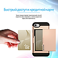 Чехол для iPhone Promate vaultcase-I7 Gold, фото 5