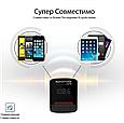 AUX/SD/USB FM трансмиттер Promate ezFM Black, фото 8