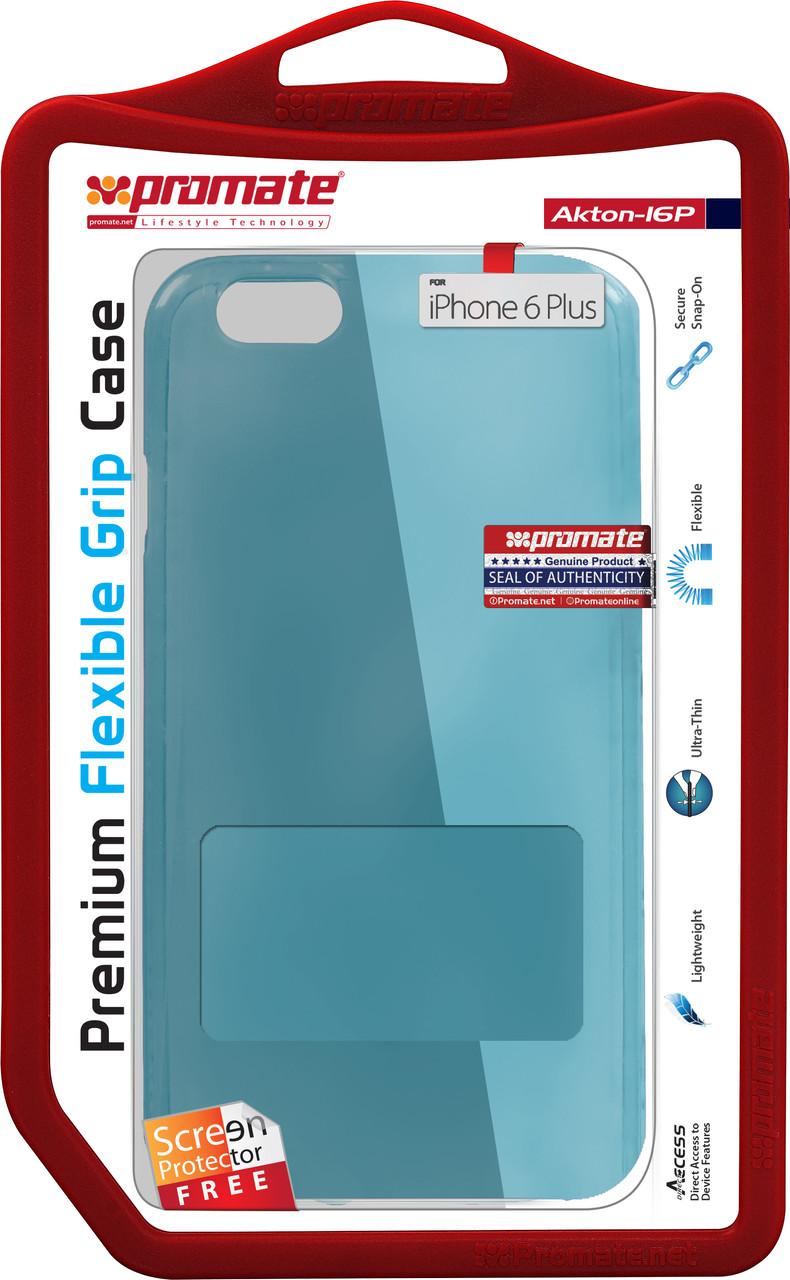 Чехол Promate Akton-i6P для Apple iPhone 6 Plus/6s Plus Blue
