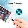 Кабель Promate Cable-LTF Lightning Black, фото 2