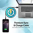 Кабель Promate Cable-LTF Lightning Black, фото 5