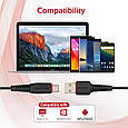 Кабели синхронизации Promate flexLink-CA3 USB Type-C 3м, фото 2