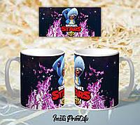 Популярная чашка Бравл старс , Brawl Stars , чашка подарок ребенку