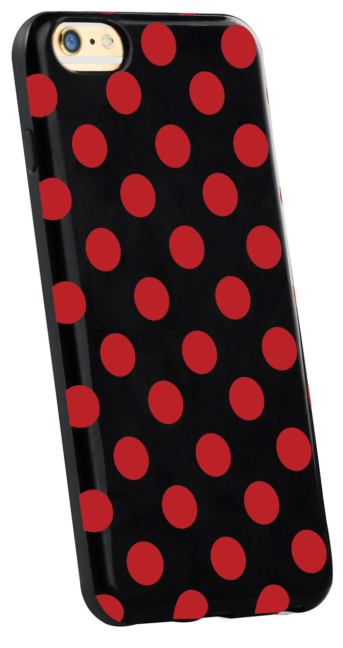 Чехол для iPhone Dotti-i6P Red