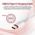 Кабель Promate flexLink-Trio USB - USB Type-C/Apple Lightning/Micro-USB 1.2 м White, фото 2