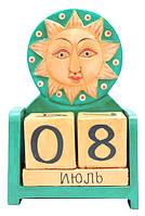 Календарь: деревянные кубики, маленькие (к-42)