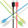 Кабель Promate linkMate-LT Lightning-USB 1.2 м Green, фото 4