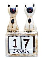 Календарь с двумя кошками вместе (ка-45)