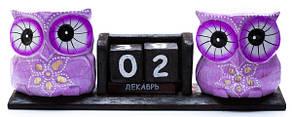 Календарь с двумя совами (ка-40)