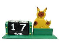 Календарь с визитницей и котом (ка-15)