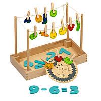 Розвиваючі іграшка - вчимося рахувати з їжачком