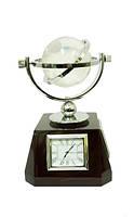 Канцелярские принадлежности: глобус с часами, термометром, барометром (кп-54)
