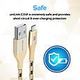 Кабель Promate uniLink-CAM USB - USB Type-C 1.2 м Gold, фото 2