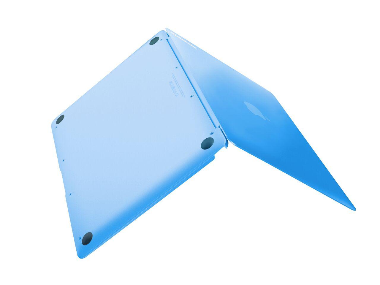 """Чехол-накладка для ноутбука Promate MacShell-12 MacBook 12"""" Blue"""