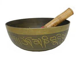 Поющая тонкостенная чаша для медитаций + пест (чл-26 + пм-42)