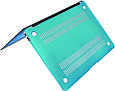 "Чехол-накладка для ноутбука Promate MacShell-Air11 MacBook Air 11"" Blue, фото 2"